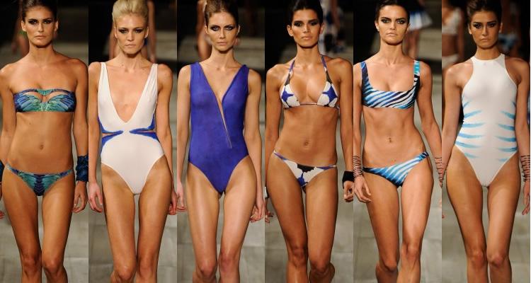 коллекция купальников 2012