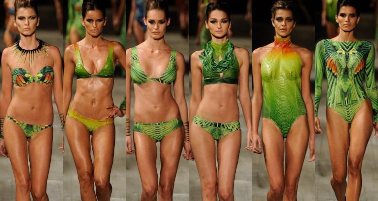 новая колекция купальников 2012