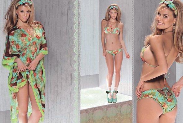 трендовые модели купальников 2012