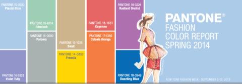 pantone trend colour 2014