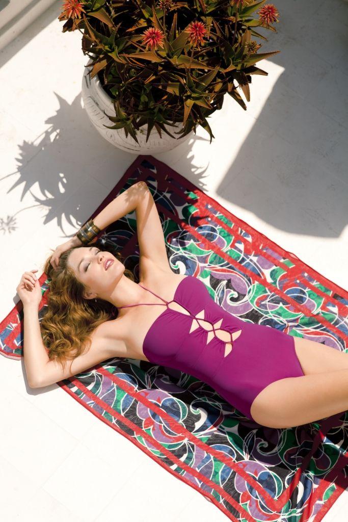 radiant orchid swimwear
