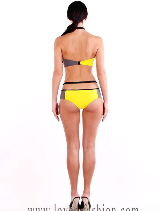 Желтый купальник купить Украина
