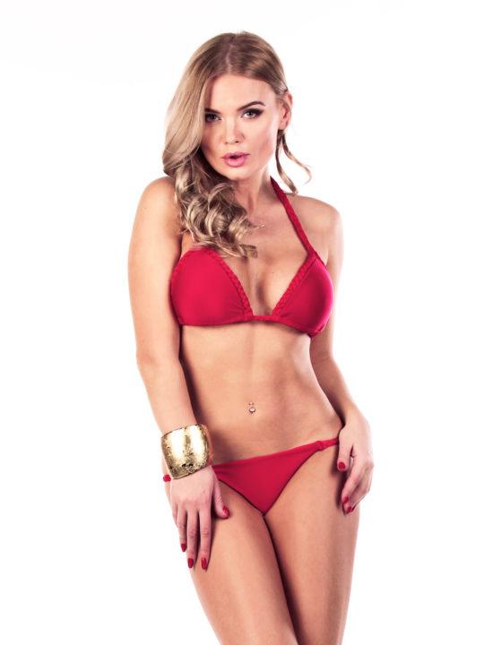 Купальник bikini красного цвета Love's Украина